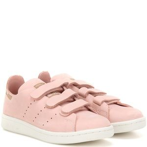 🌸 Adidas Stan Smith Vapour Pink Velcro Sneakers